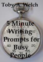 Cover for '5 Minute Writing Prompts for Busy People'