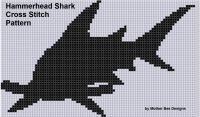 Cover for 'Hammerhead Shark Cross Stitch Pattern'