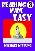 Cover for 'Reading Made Easy Volume 3'