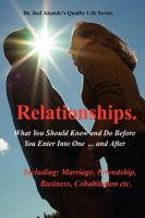 Cover for 'Why Relationships Fail or Succeed.'