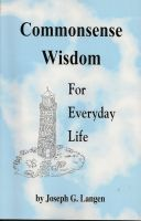 Cover for 'Commonsense Wisdom for Everyday Life'