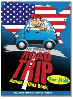 Cover for 'Ultimate Roadtrip Games & Quiz Book For Kids'