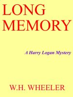 Cover for 'Long Memory'