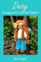 Cover for 'Daisy Amigurumi Crochet Pattern'