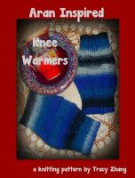 Cover for 'Aran Inspired Knee Warmers: A Knitting Pattern'