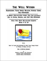 Cover for 'The Well Within -- Self-Hypnosis for Deep Relaxation'