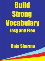 Cover for 'Build Strong Vocabulary: Easy and Free'