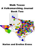 Cover for 'Walk Texas: A Volksmarching Journal – Book Two'