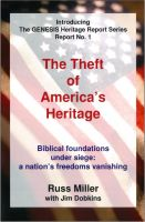 Cover for 'The Theft of America's Heritage'