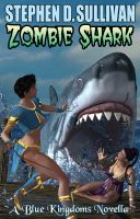 Cover for 'Zombie Shark'
