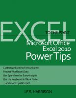 Cover for 'To The Point…  Microsoft Office Excel 2010 Power Tips'
