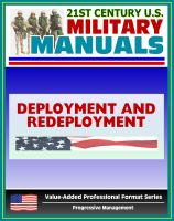 Cover for '21st Century U.S. Military Manuals: Army Deployment and Redeployment Field Manual - FM 100-17, FMI 3-35 (Value-Added Professional Format Series)'