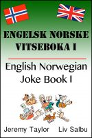 Cover for 'English Norwegian Joke Book'