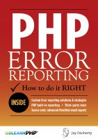 Cover for 'PHP Error Reporting: How To Do It Right'