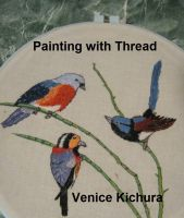 Cover for 'Painting with Thread'