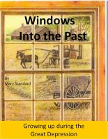 Cover for 'Windows Into the Past'