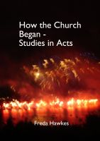 Cover for 'How the Church Began'