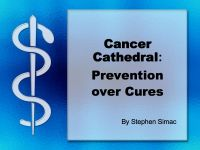 Cover for 'Cancer Cathedral: Prevention Over Cures'