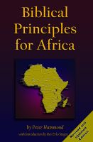 Cover for 'Biblical Principles for Africa'