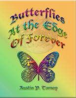 Cover for 'Butterflies At The Edge of Forever'
