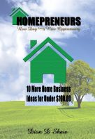 Cover for '10 More Home Business Ideas for Under $100.00'