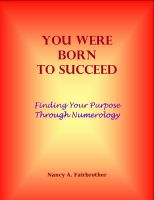 Cover for 'You Were Born to Succeed: Finding Your Purpose through Numerology'