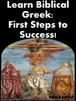 Cover for 'Learn Biblical Greek: First Steps to Success!'