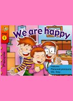 Cover for 'We are happy'