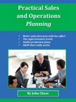 Cover for 'Practical Sales and Operations Planning'