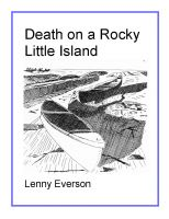 Cover for 'Death on a Rocky Little Island'