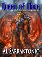 Cover for 'Queen of Mars - Book III in the Masters of Mars Trilogy'