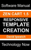 Cover for 'Zen Cart 1.5 Responsive Template Creation'