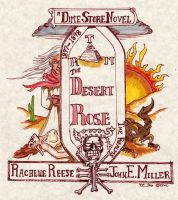 Cover for 'The Desert Rose'