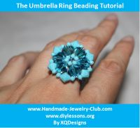 Cover for 'Learn to Bead An Umbrella Ring!'