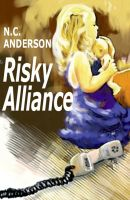 Cover for 'Risky Alliance'