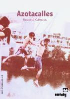 Cover for 'Azotacalles'