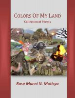 Cover for 'Colors of My Land'