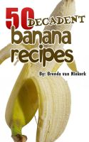 Cover for '50 Decadent Banana Recipes'