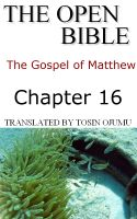 Cover for 'The Open Bible - The Gospel of Matthew: Chapter 16'