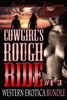 Cover for 'Cowgirl's Rough Ride: Western Erotica Bundle'