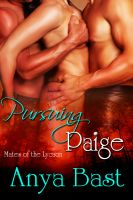 Cover for 'Pursuing Paige'