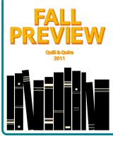 Cover for 'Quill and Quire Fall Preview 2011'