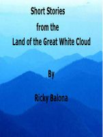 Cover for 'Short Stories from the Land of the Great White Cloud'
