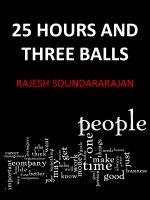Cover for '25 hours and three balls'
