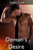 Cover for 'Demon's Desire (m/m Paranormal Erotica)'