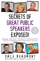 Cover for 'Secrets of Great Public Speakers Exposed!'