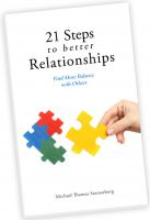 Cover for '21 Steps to Better Relationships'