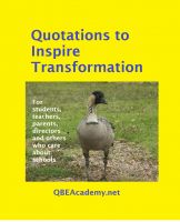 Cover for 'Quotations to Inspire Transformation'