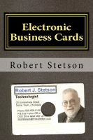 Cover for 'Electronic Business Cards'