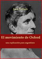 Cover for 'El movimiento de Oxford: una explicación para argentinos.'